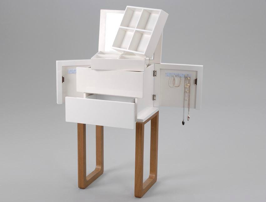 ce meuble est dun style moderne ferm entirement il peut tre utilis comme table de chevet