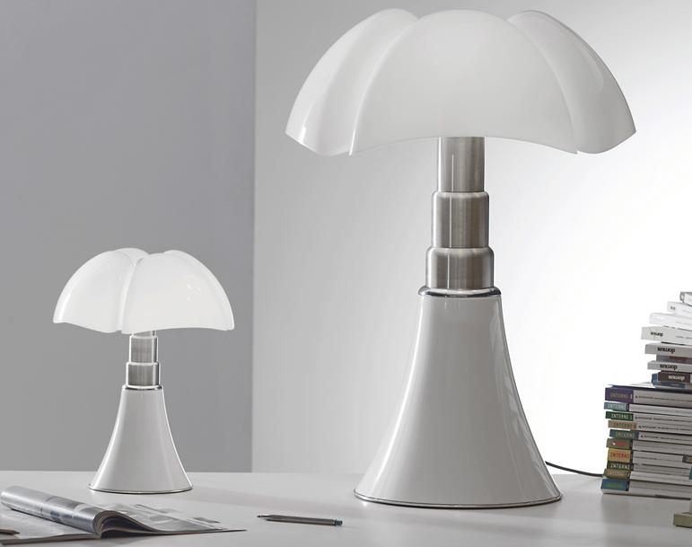 Lampe design Art Nouveau Pipistrello Martinelli Luce 1965