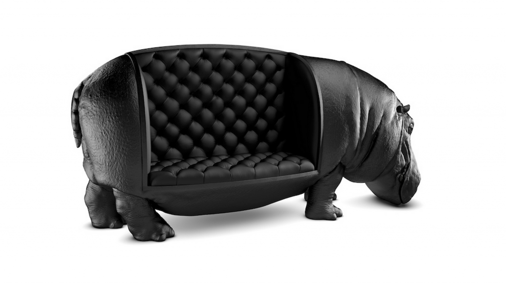 Max riera caroline munoz for Objet decoration hippopotame