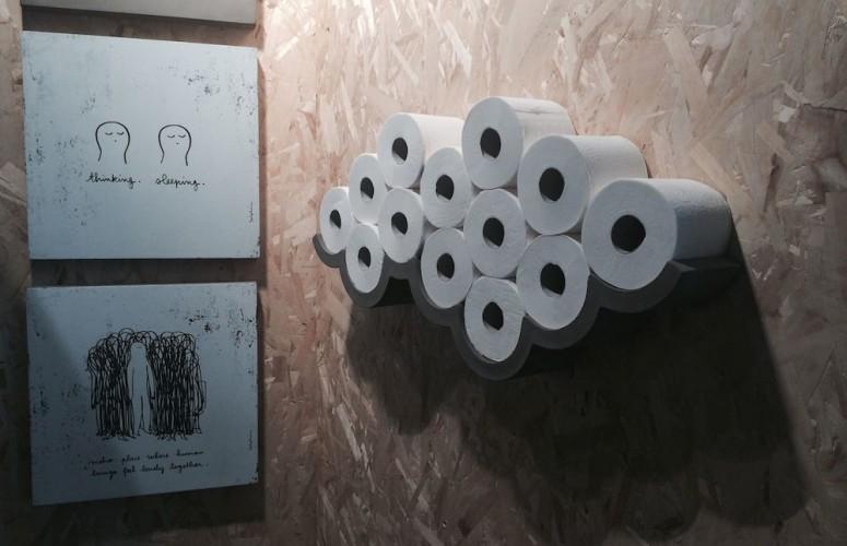 Cloud pour papier toilette - CAROLINE MUNOZ ff8176d5a70b