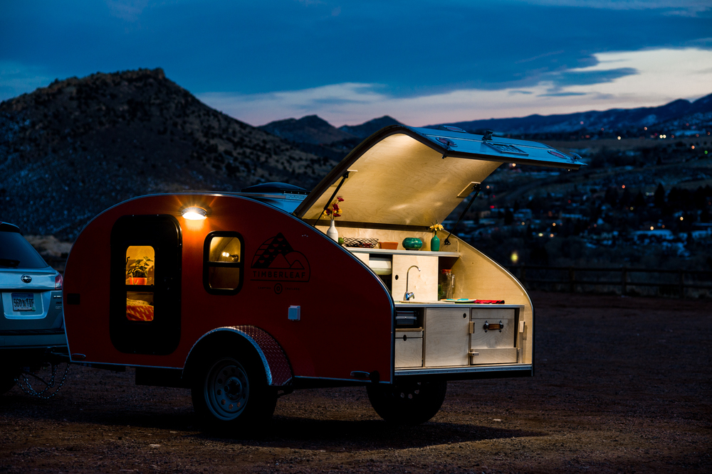 la caravane timberleaf caroline munoz. Black Bedroom Furniture Sets. Home Design Ideas