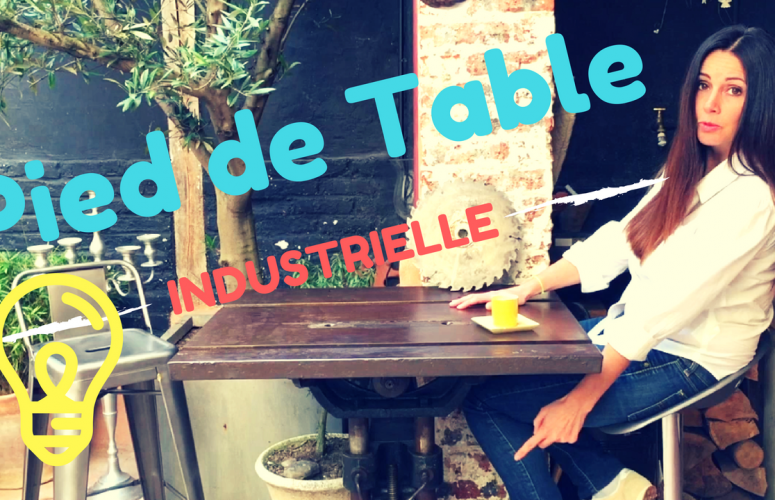 PIED de TABLE