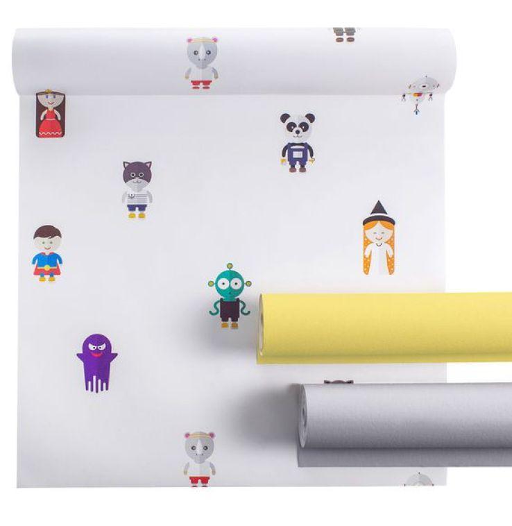 papier peint interactif pour chambre d 39 enfants caroline munoz. Black Bedroom Furniture Sets. Home Design Ideas