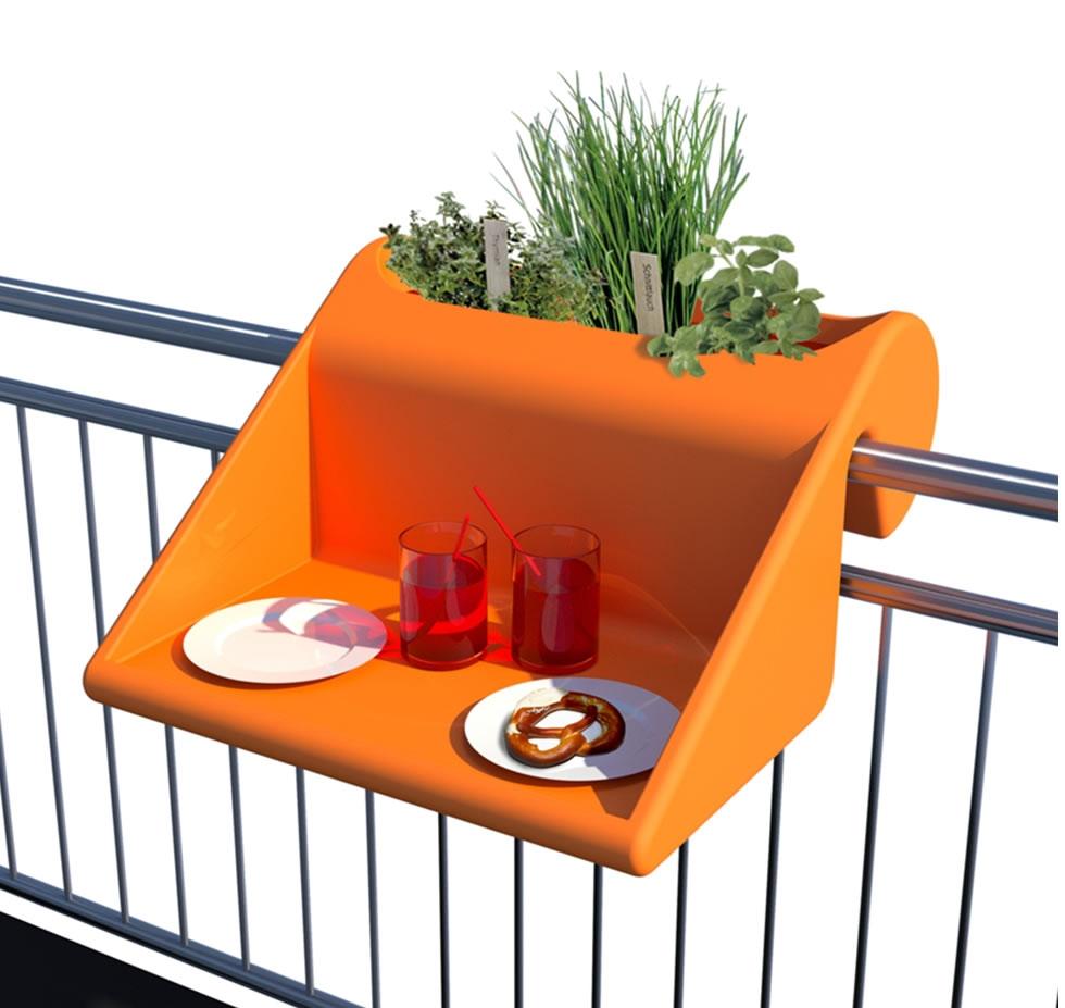 table d 39 appoint balkonzept caroline munoz. Black Bedroom Furniture Sets. Home Design Ideas